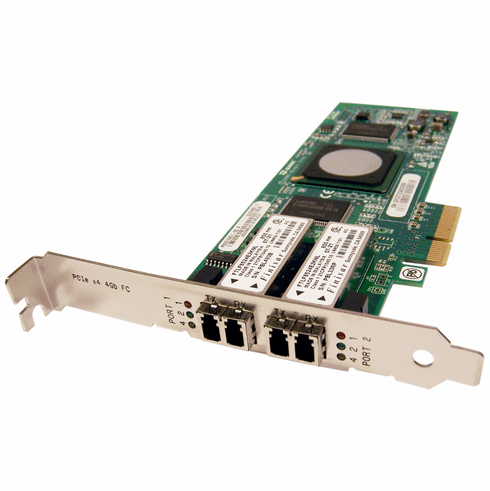 Qlogic X4 FC 2-Port PCIe HBA 4GB Adapter Card QLE2462-E PX2510401-55A