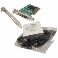 Quatech RS-232 PCI 8-Port w Cable VHDCI New ESCLP-100 830-3105-00F-G / 7830-07092