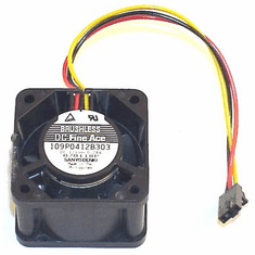 Sanyo 12v DC 0.28a 40x27mm 3-Wire FAN 109P0412B303 3-Pin Brushless DC Fine Ace