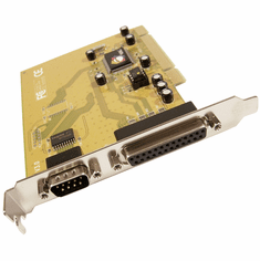 SIIG Cyber Pro Parallel and Serial PCI Adapter JJ-P11012