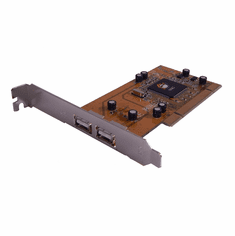 SIIG Dual-Port USB 2.0 PCI Host Adapter JU-P20212R