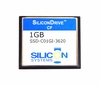 SiliconDrive 1GB Compact Flash Card SSD-C01GI-3620