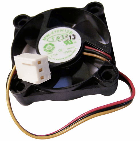 T&T 12VDC 0.11A 3-Wire 40x10mm Fan MW-410H12B