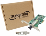 Transition 1000BASE-SX PCIe Gigabit Card New N-GXE-LC-01 Std and Low Profile Bracket