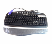 Unotron Spillseal USB-PS2 BLK Washable Keyboard S5100K Dell JH287 Black New Kit