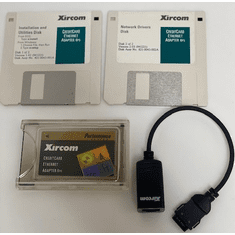 Xircom PCMCIA CreditCard Ethernet Adapter ALN2000 Includes cable