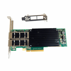 XtremeScale Dual-Port 40GbE QSFP+ PCIe Adapter SFN8042 Server I/O Adapter