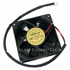 Yate Loon 80x25mm 24v 0.19a 2Wire-3pin Fan D80BH-24