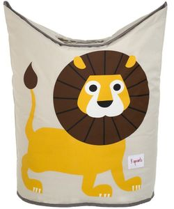 3 Sprouts Laundry Hamper - Lion Yellow