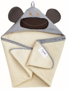 3 Sprouts Hooded Towel - Milo