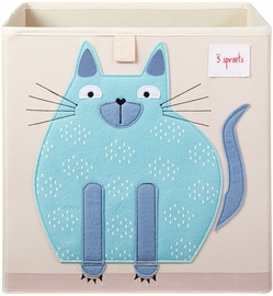 3 Sprouts Storage Box - Cat