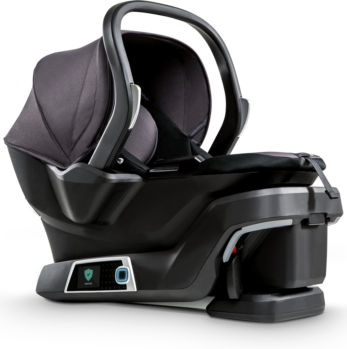 4moms Self-Installing Infant Car Seat Black