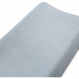 Aden + Anais Bamboo Changing Pad Cover - Moonlight, Solid Grey