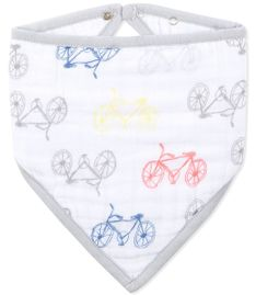 Aden + Anais Bandana Bib - Leader of the Pack, Cycles