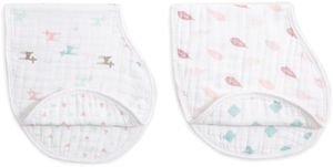 Aden + Anais Burpy Bibs, 2 Pack - Camp Girl