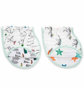 Aden + Anais Burpy Bibs, 2 Pack - Color Pop