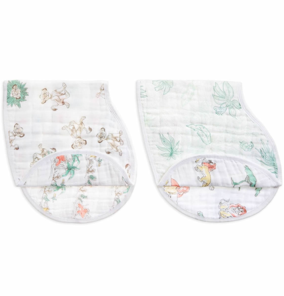 Soft Absorbent 4 Layers,... anais Burpy Bib aden by 100/% Cotton Muslin