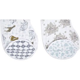Aden + Anais Burpy Bibs, 2 Pack - Jungle