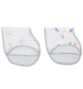 Aden + Anais Burpy Bibs, 2 Pack - Leader of the Pack