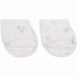 Aden + Anais Burpy Bibs, 2 Pack - Night Sky Reverie