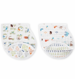 Aden + Anais Burpy Bibs, 2 Pack - Paper Tales