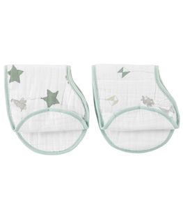 Aden + Anais Burpy Bibs, 2 Pack - Up, Up & Away
