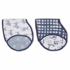 Aden + Anais Burpy Bibs, 2 Pack - Waverly