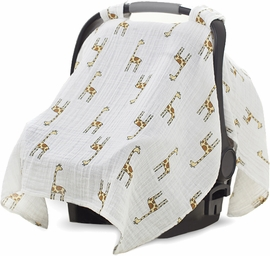 Aden + Anais Car Seat Canopy - Jungle Jam