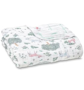 Aden + Anais Classic Dream Blanket - Forest Fantasy Deer