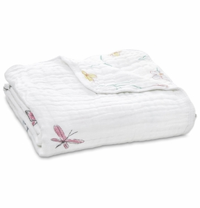 Aden + Anais Classic Dream Blanket - Forest Fantasy Rabbits