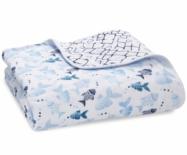 Aden + Anais Classic Dream Blanket - Gone Fishing