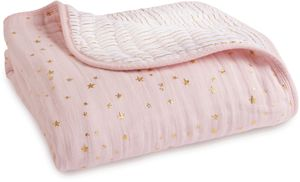 Aden + Anais Classic Dream Blanket - Metallic Primrose