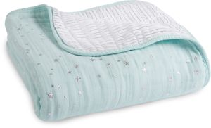 Aden + Anais Classic Dream Blanket - Metallic Skylight
