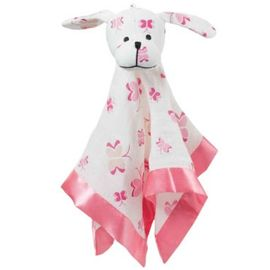 Aden + Anais Classic Musy Mates Lovey Puppy - Princess Posie, Butterfly