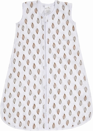 Aden + Anais Classic Sleeping Bag - Dahlias Gold Leaf - Medium