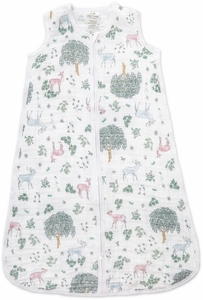Aden + Anais Classic Sleeping Bag - Forest Fantasy Deer - Large