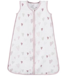 Aden + Anais Classic Sleeping Bag - Heart Breaker - Large