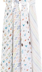 Aden + Anais Classic Swaddle Wraps, 4 Pack - Paper Tales
