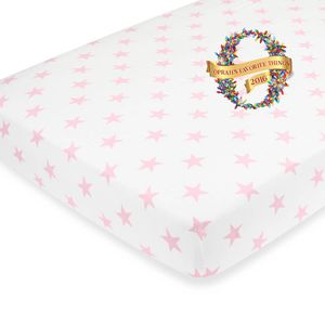 Aden + Anais Cozy Crib Sheet - Grace