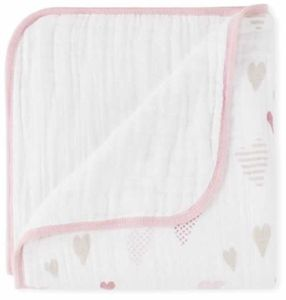 Aden + Anais Classic Dream Blanket - Heart Breaker