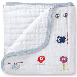 Aden + Anais Classic Dream Blanket - Monster Mash
