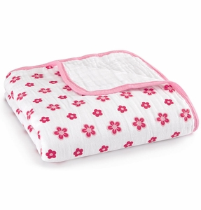 Aden + Anais Classic Dream Blanket - Princess Posie