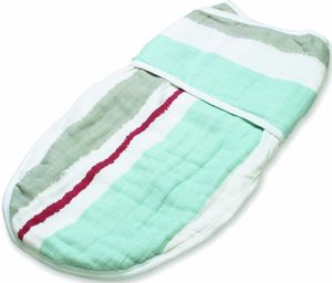 Aden + Anais Easy Swaddle - Liam the Brave, Paintbrush Stripe (S/M)