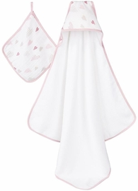 Aden + Anais Hooded Towel Set - Heart Breaker