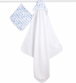 Aden + Anais Hooded Towel Set - Scout