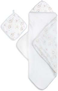 Aden + Anais Muslin-Backed Hooded Towel Set - Leader of the Pack