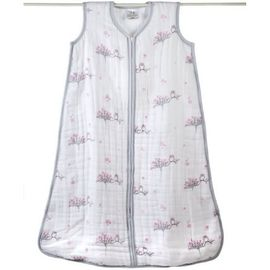 Aden + Anais Muslin Cozy Sleeping Bag - For the Birds - Owls - Medium