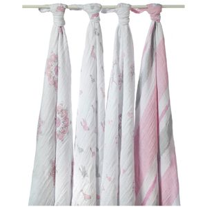 Aden + Anais Classic Swaddle Wraps, 4 Pack - For The Birds