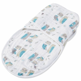 Aden + Anais Organic Easy Swaddle - Wise Guys
