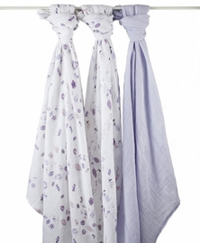 Aden + Anais Organic Swaddle - 3 Pack - Once Upon A Time